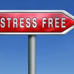 zona de trabalho livre de estresse, trabalho no escritório ou vida, por ioga e relaxamento